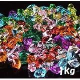 1キロ アイスキューブ 1kg 約400個入 宝石すくいイベント用