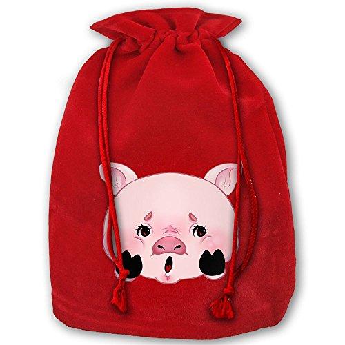 ラッピング袋 ナップサック 巾着袋 ペギー ピギー 豚 ピッ...