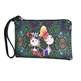 Amazon.co.jpFaysting JP 素敵な大きな財布ファスナー革財布の女性の長い材料が良い恋人をデコレーション