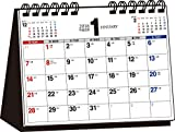 2018年 シンプル卓上カレンダー B6ヨコ ([カレンダー])