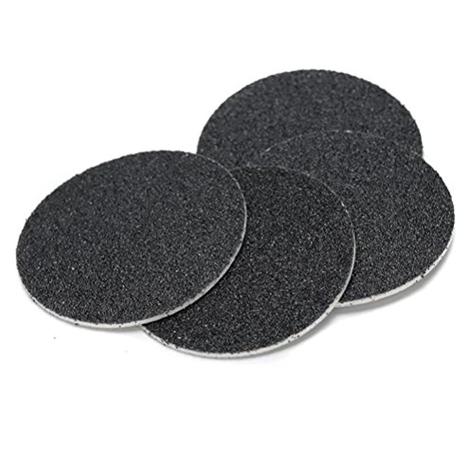 説得力のあるやめる発動機Joint Victory Pedicure Tools 1 Box (60pcs) Replacement Sandpaper Discs Pad for Electric Foot File Callus Remover...