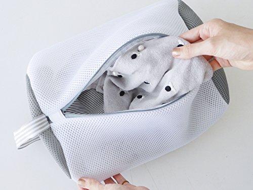 現代百貨『W/Dランドリーネット筒型バッグ』