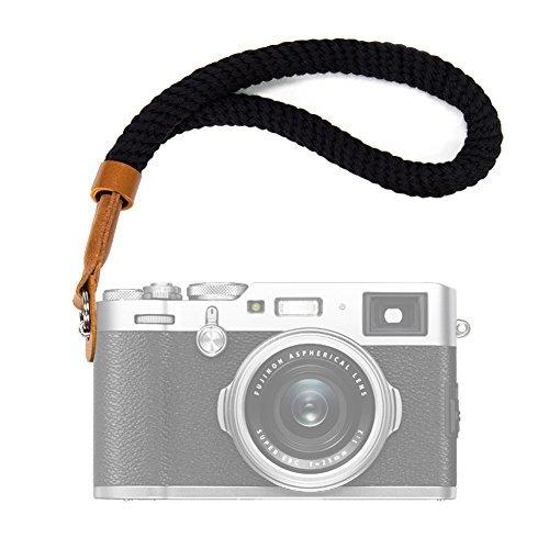 VKO カメラのリストストラップ for FUJIFILM 富士フイルム X100F X100S X100T X-T20 X-T10 X-T2 X70 X-Pro2 X-E2S X-E3 X-E2 X-E1 X-T1 X-Pro1 X30 XQ2 XQ1
