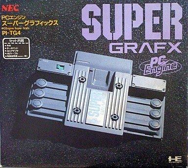 PCエンジン スーパーグラフィックス本体 【PCエンジン】