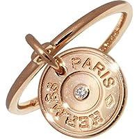 [エルメス]HERMES K18PG ダイヤ1P(0.01ct) ガンバードクルー・ド・セルリング 指輪 #49(8.5号) H216631B 00049 中古