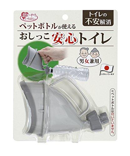 サンコー 防災用 おしっこ安心トイレ GYグレー CL-77