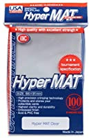 KMC Hyper Matte Clear 100-count Standard Size Sleeves Pack [USA packaging] [並行輸入品]