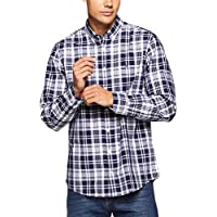 TOMMY HILFIGER Men's Dashing Check Long Sleeve Shirt