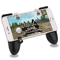PUBG Mobile 荒野行動 コントローラー クリップ固定式 引き金 Identity V ゲームパッド マイクロスイッチ 交換可能な部品 ジョイスティック|押しボタン|グリップ 3 in 1 ゲームコントローラ iPhone/Android各種ゲーム対応