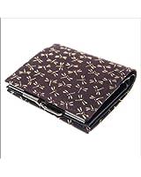 印傳屋 印伝 がま口 レディース ( 女性用 ) 財布 二つ折財布 ( 二つ折り財布 ) 札入れ 1602 日本製 和風 和柄 通販 ギフトに。