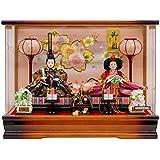雛人形 親王飾り ケース入り幅48cm [fz-216] ひな人形