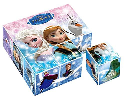 9コマ キューブパズル アナと雪の女王