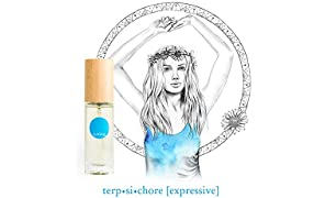 IME 100% Natural Perfume - terpsichore [expressive] Fresh Spice Scent - feel free, spirited, expressive. Certified Toxin & Cruelty Free. 30ml EDP