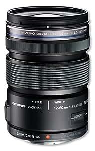 OLYMPUS ミラーレス一眼 レンズ 防塵 防滴 電動ズーム ED 12-50mm ブラック M.ZUIKO DIGITAL ED12-50mmF3.5-6.3 EZ BLK