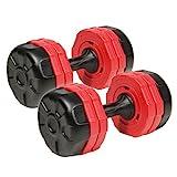 アーミーダンベル 10kg ×2個 セット 20kgセット LEDB-10 シリーズ 錆びない ダンベル ウェイト トレーニング 筋トレ 片手 10kg 傷防止