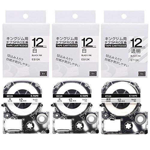 [해외]Airmall 킹 용 뿌라 PRO 호환 테이프 카트리지 호환 품 길이 8M/Airmall Kingfjem Tepra PRO compatible tape cartridge compatible item Length 8M