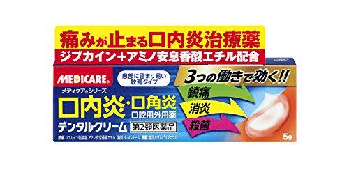【第2類医薬品】デンタルクリーム 5g
