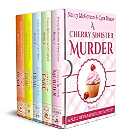 Slice of Paradise Cozy Mysteries, The Complete Series Box Set: With All 5 Books & All 5 Recipes from the series Plus a Bonus Prequel by [McGovern, Nancy, Bruce, Cyra]