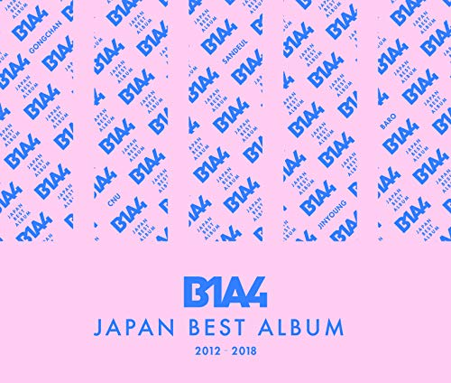 B1A4 JAPAN BEST ALBUM 2012-2018(Blu-ray Disc付)