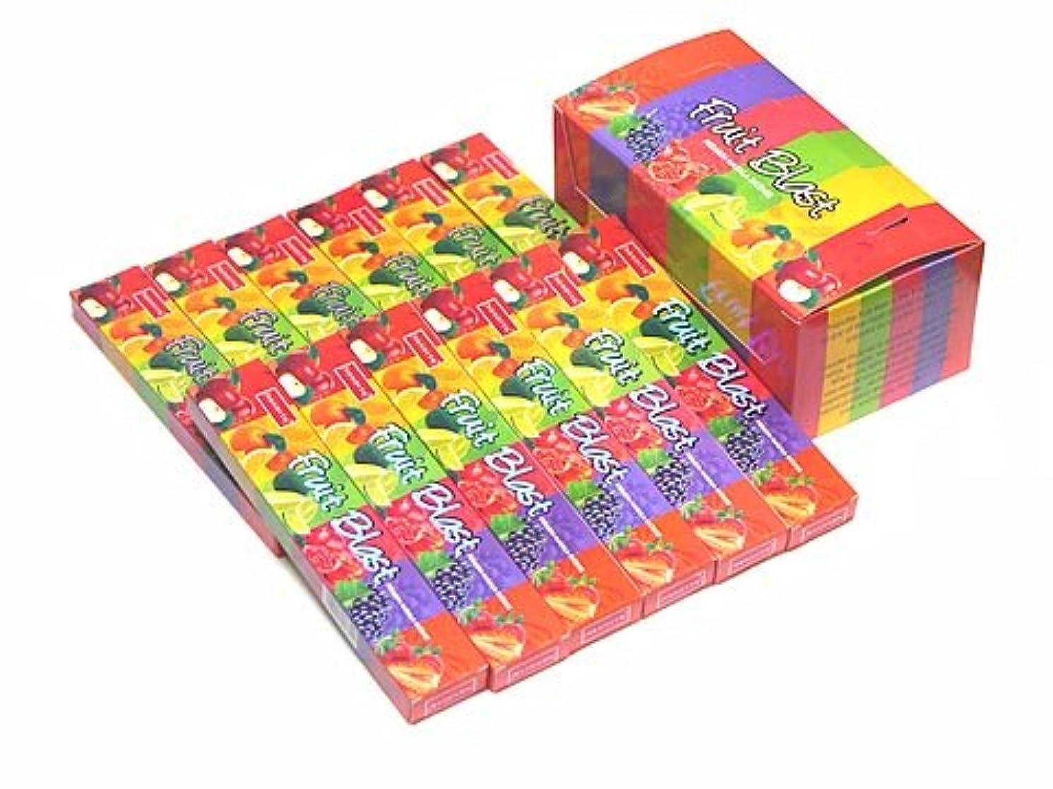 仕出します薬用屈辱するNANDITA(ナンディータ) フルーツブラスト香 スティック FRUIT BLAST 12箱セット