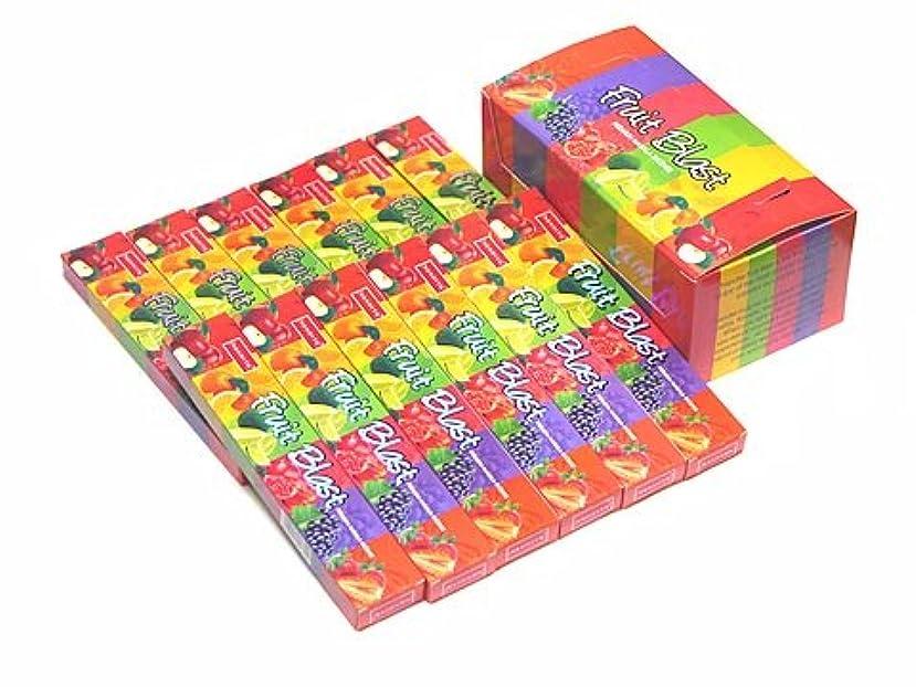 広がり有効化白菜NANDITA(ナンディータ) フルーツブラスト香 スティック FRUIT BLAST 12箱セット