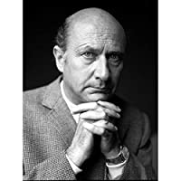 Warren Portrait Actor Donald Pleasence Photo Art Print Canvas Premium Wall Decor Poster Mural 戦争ポートレート写真壁デコポスター