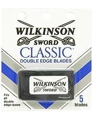 ウィルキンソン ソード (Wilkinson Sword) ドイツ製 両刃替刃 5枚 [並行輸入品]