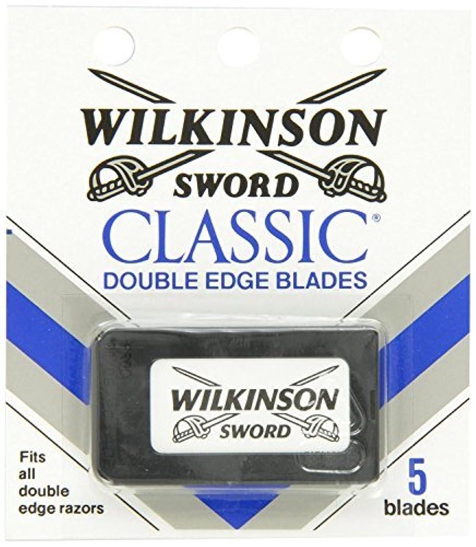 然としたバイオレット海外ウィルキンソン ソード (Wilkinson Sword) ドイツ製 両刃替刃 5枚 [並行輸入品]