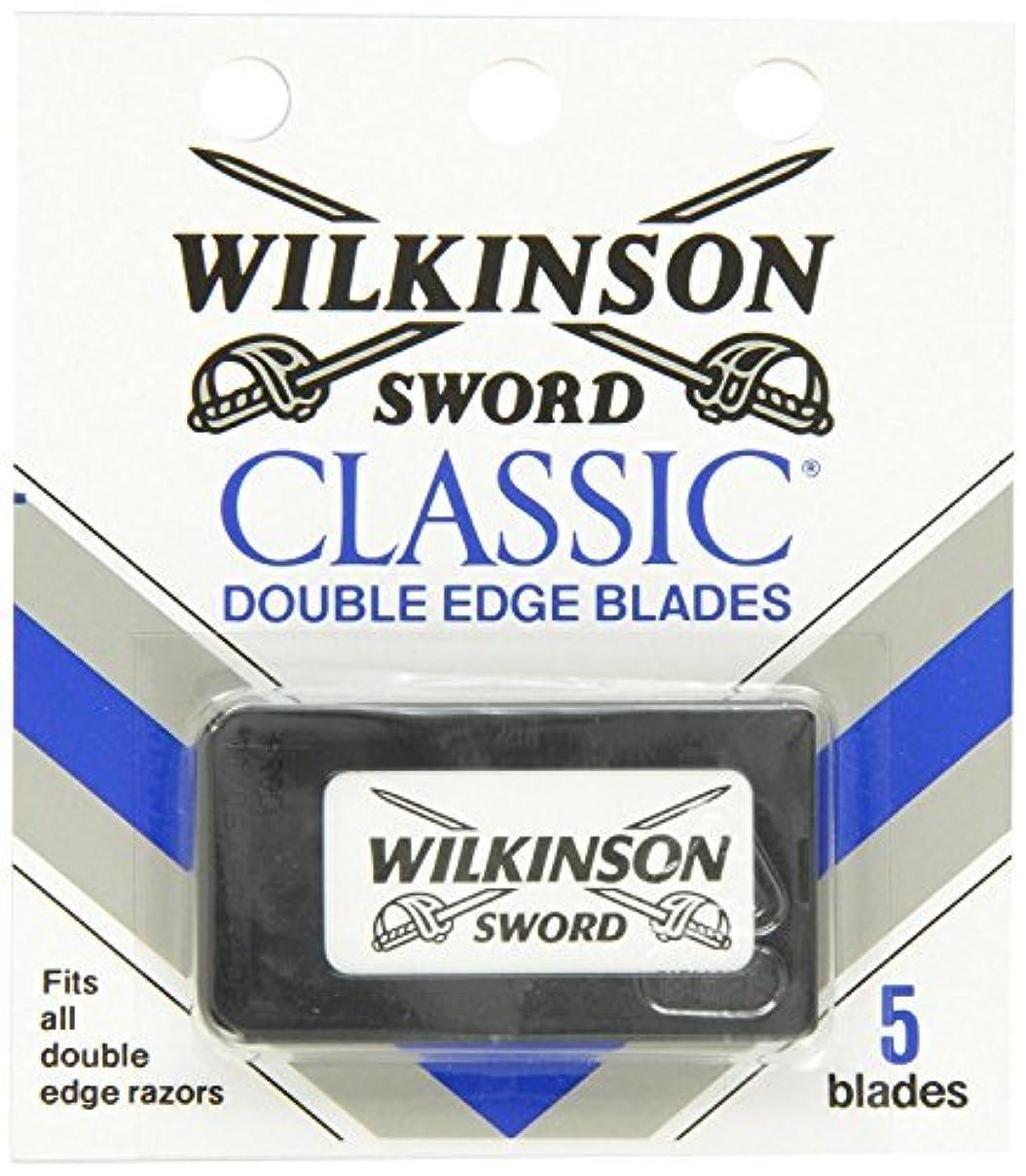 できたパッケージ額ウィルキンソン ソード (Wilkinson Sword) ドイツ製 両刃替刃 5枚 [並行輸入品]