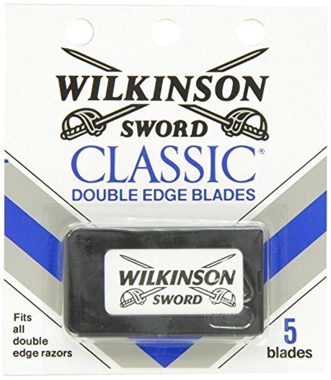 砂球状歯ウィルキンソン ソード (Wilkinson Sword) ドイツ製 両刃替刃 5枚 [並行輸入品]