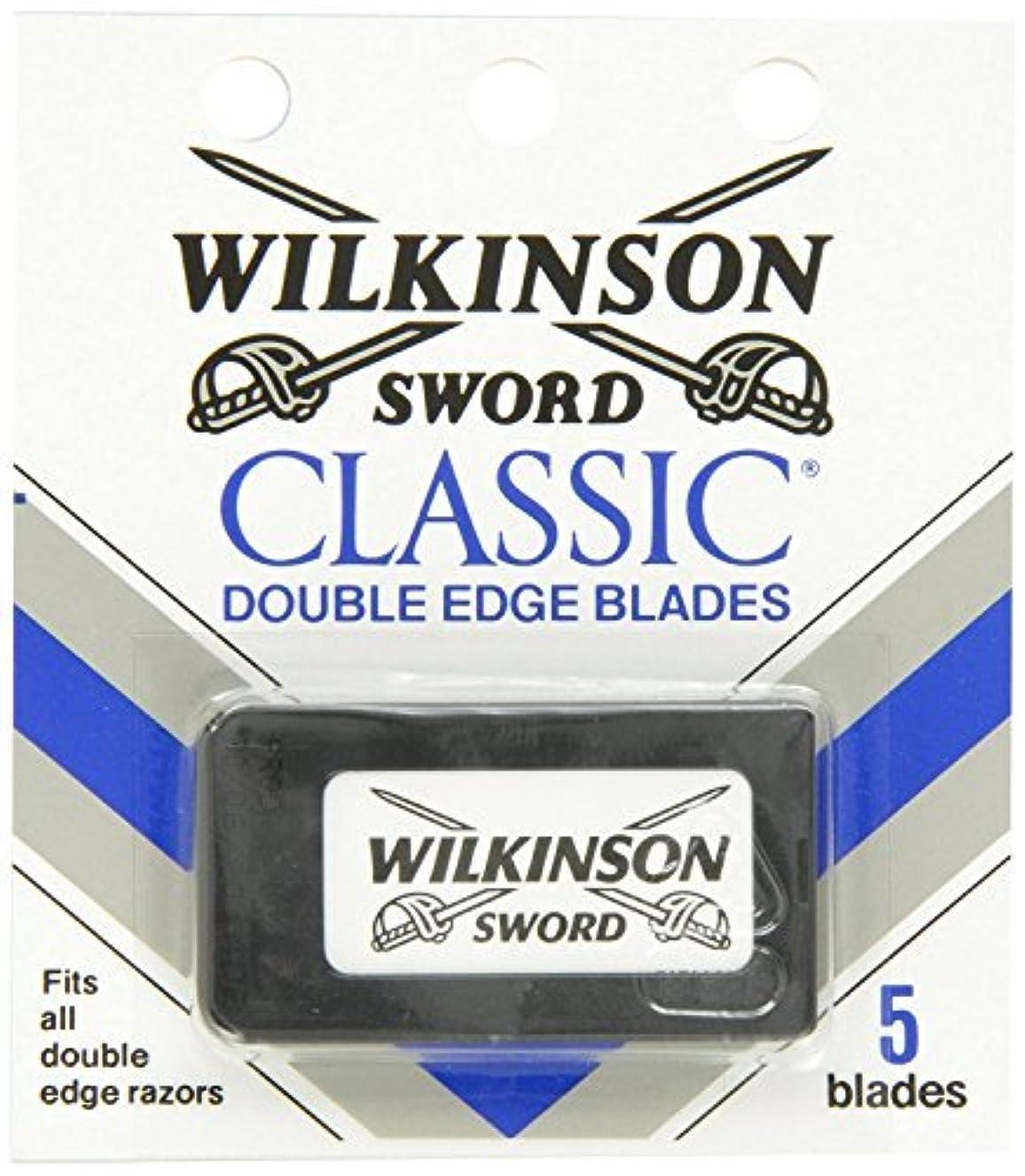 電球用量頼るウィルキンソン ソード (Wilkinson Sword) ドイツ製 両刃替刃 5枚 [並行輸入品]