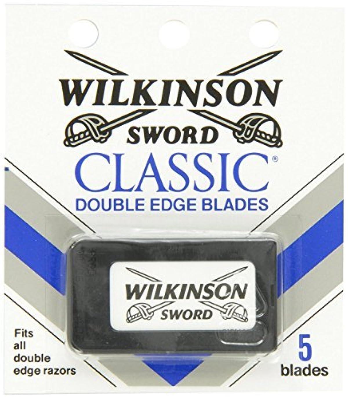 ペデスタル熱狂的なとんでもないウィルキンソン ソード (Wilkinson Sword) ドイツ製 両刃替刃 5枚 [並行輸入品]