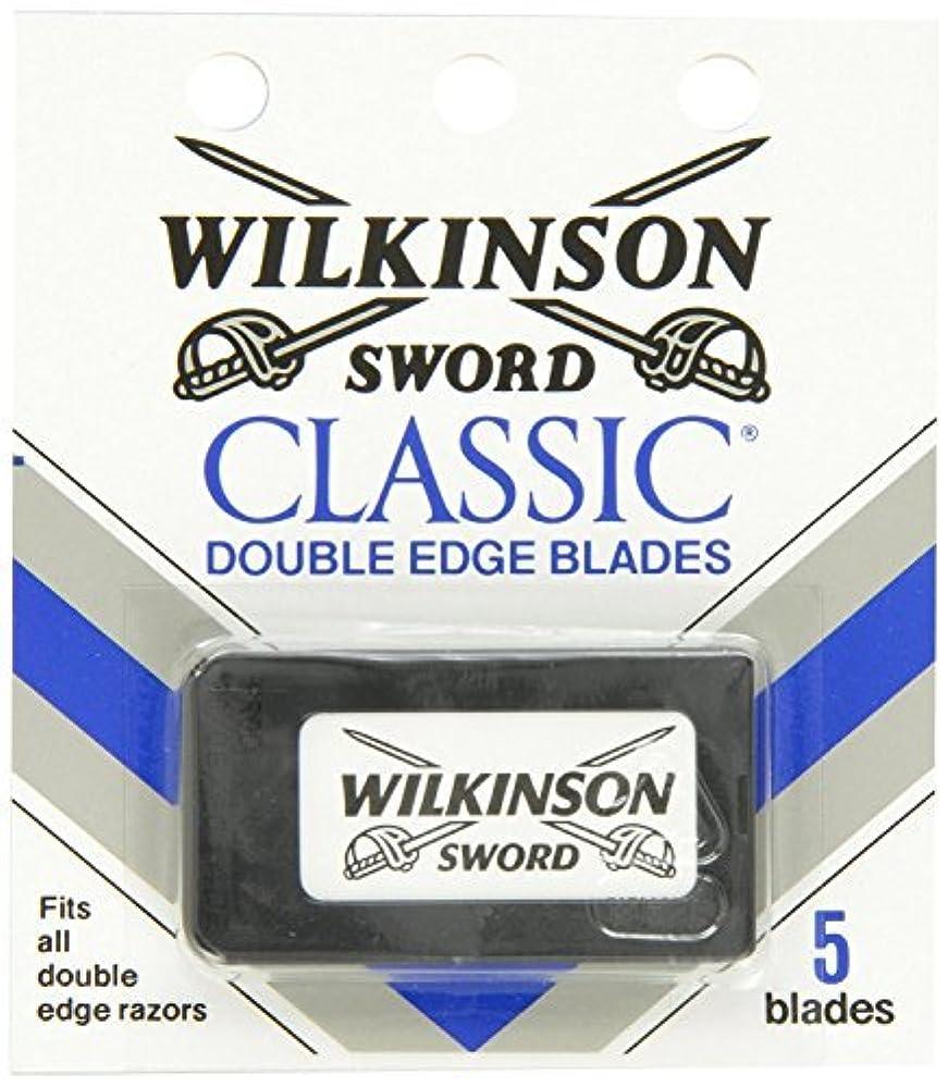 ルーム一般アストロラーベウィルキンソン ソード (Wilkinson Sword) ドイツ製 両刃替刃 5枚 [並行輸入品]