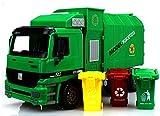 XPGGC 子供のおもちゃ ごみ収集車 グリーン車