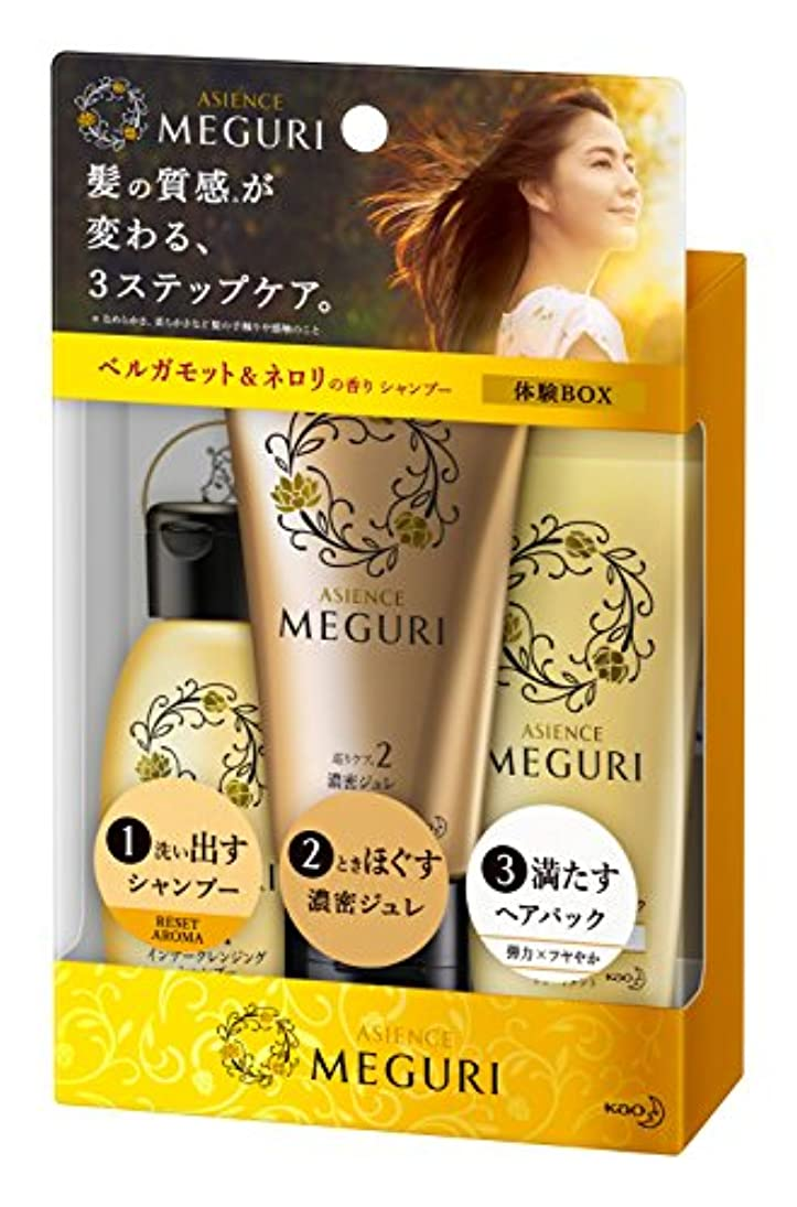 やさしい累積モノグラフ【ミニセット】アジエンス MEGURI 体験BOX RESET 145g
