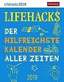 Lifehacks - Kalender 2019: Der hilfreichste Kalender aller Zeiten