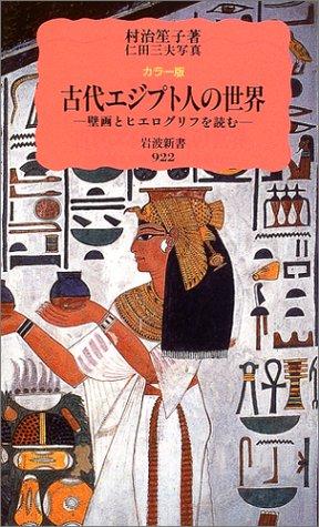 カラー版 古代エジプト人の世界—壁画とヒエログリフを読む (岩波新書)