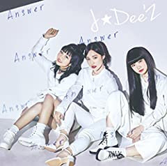 J☆Dee'Z「MORNING HOPE」の歌詞を収録したCDジャケット画像