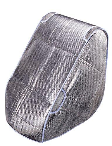 スマートスタート チャイルドシート サンシェイド ネット窓付き チャイルドシートをすっぽりカバーして遮熱&籠った熱を逃がす