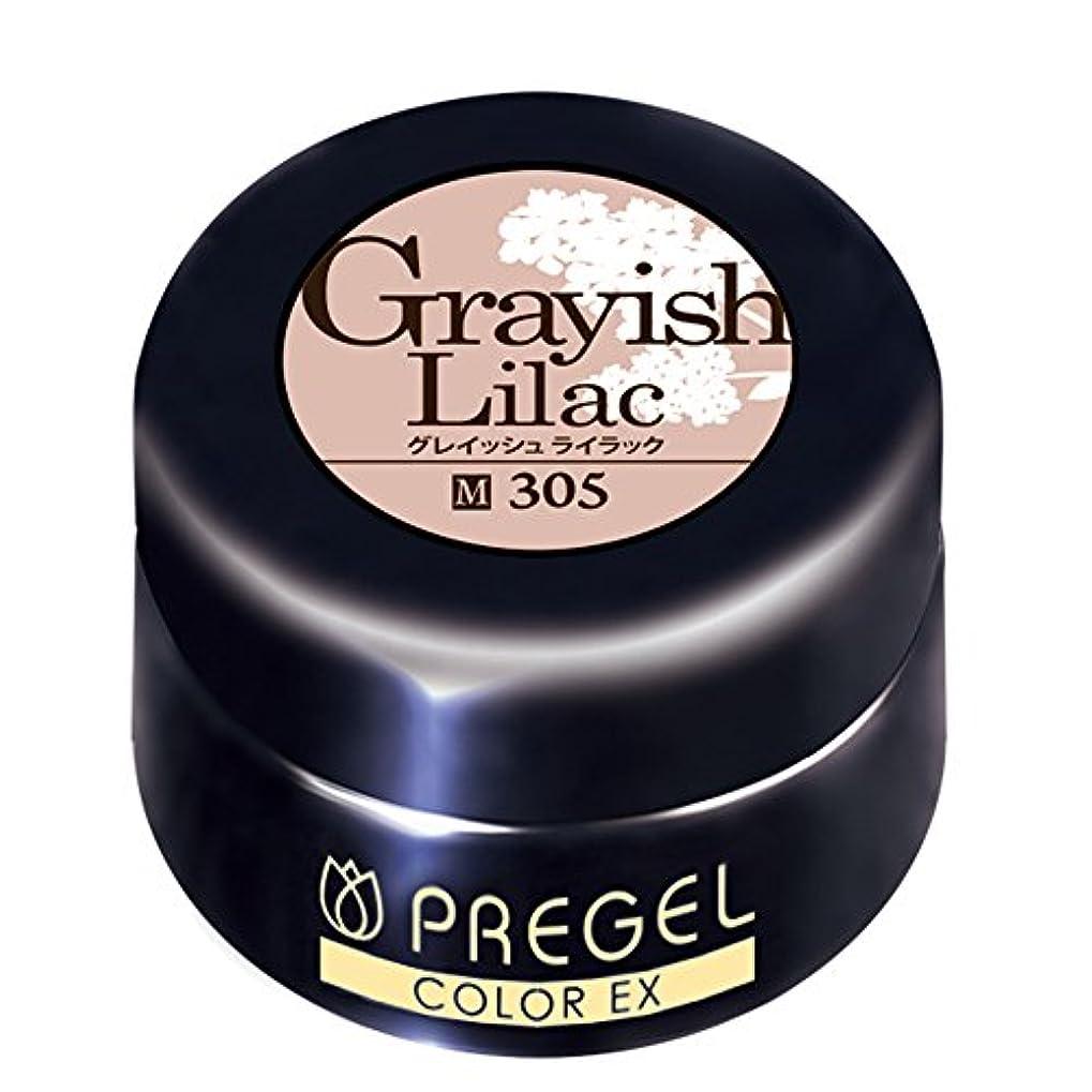 識別する想像する特許プリジェル ジェルネイル カラーEX グレイッシュライラック 4g PG-CE305