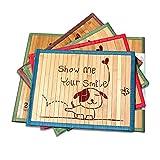 Hanzion 夏用竹マット ペット用クールベッド クッション 涼しい 涼感パッド 冷えマット 熱中症暑さ対策 お掃除簡単 通気性よい (2L) ¥ 1,090