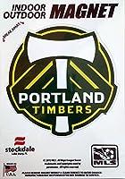 "Portland Timbers 5""ビニールマグネット自動ホームMLSサッカーFootball Club"