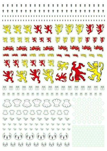 アンドレアミニチュアズ AT-010 English Heraldry Transfers