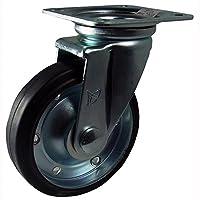 ナンシン 産業用キャスター 自在φ150ゴム車輪(ベアリング入り) STM-150 VS