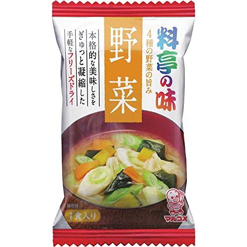 マルコメ FD料亭の味 野菜 10食