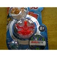 Bakugan Bakulyte b3超爆丸スターターパック半透明ゴールデン突撃砲、レッド、ブルーMystery