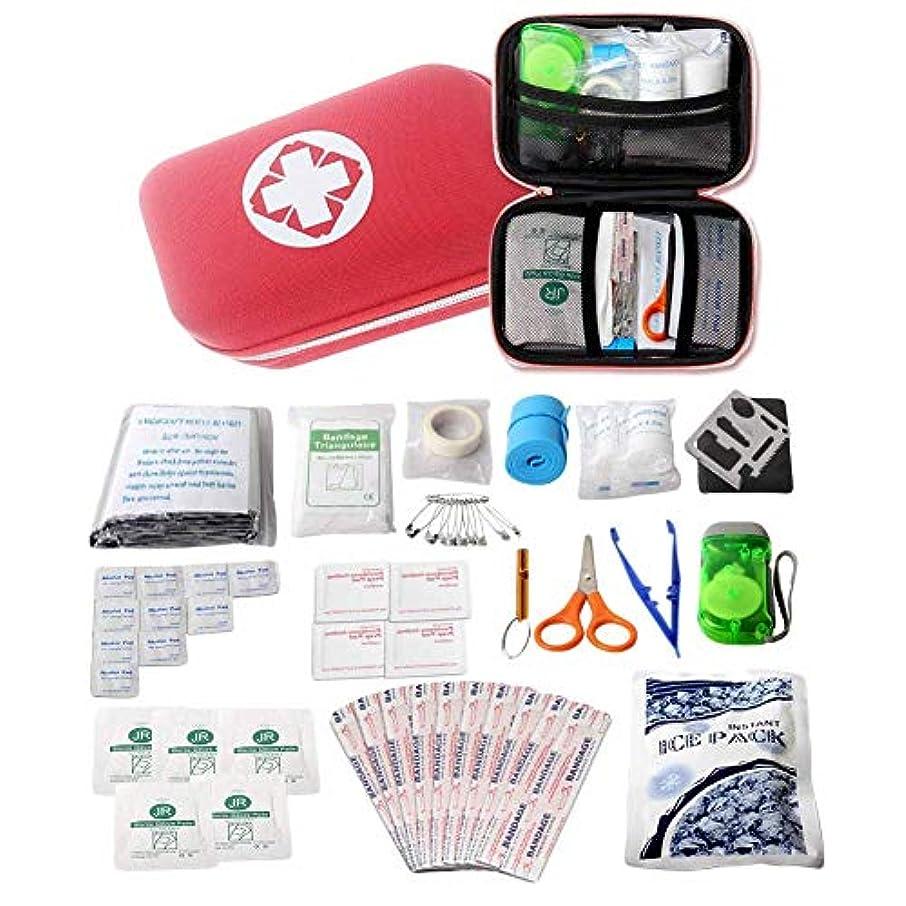 診断する仕方心理的救急箱セット 携帯用 ASDSH 救急セット 応急処置 救急バッグ 多機能 応急処置セット 家庭 職場 学校 アウトドア 登山 旅行 非常時用 ファーストエイドキット 18種類
