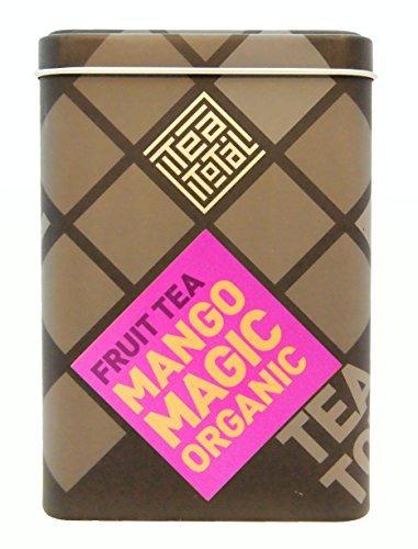 Tea Total Tea total ティートータル マンゴー マジック 100g入り缶タイプ ニュージーランド産 フルーツティー フレーバーティー ノンカフェイン ドライフルーツ