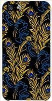 ohama iPhone 5 アイフォン ハードケース ca628-1 羽 レトロ ポップ クジャク 孔雀 スマホ ケース スマートフォン カバー カスタム ジャケット au softbank