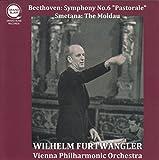 ベートーヴェン : 交響曲 第6番 「田園」   スメタナ : 交響詩 「モルダウ」 (Beethoven : Symphony No.6 ''Pastorale''   Smetana : The Moldau / Wilhelm Furtwangler   Vienna Philharmonic Orchestra) [CD]